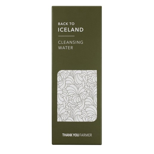 Thank You Farmer Back to Iceland Cleansing Water Νερό Καθαρισμού που Αφαιρεί Απαλά το Μακιγιάζ &Αναζωογονεί την Επιδερμίδα 270ml