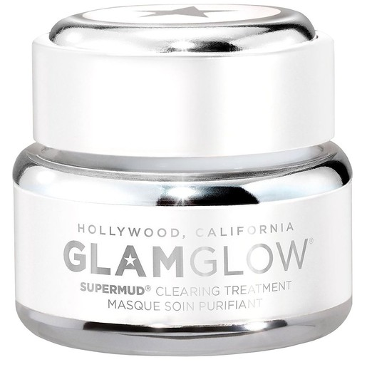 Glamglow Supermud Cleansing Treatment Mask Καθαρίζει Βαθιά & Απορροφά τη Γυαλάδα 50gr