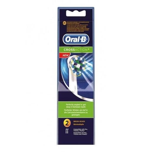 2 Ανταλλακτικές Κεφαλές Βουρτσίσματος Oral-B CrossAction®