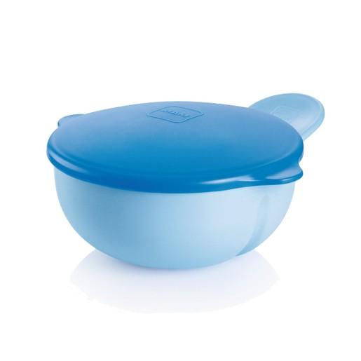 Mam Feeding Bowl Κωδ 527 Μπωλ με Καπάκι από 6+ Μηνών 1 Τεμάχιο