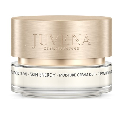 Juvena Skin Energy Moisture Cream Rich 24ωρη Ενυδατική Κρέμα Προσώπου που Επαναφέρει τα Επίπεδα Υγρασίας στην Επιδερμίδα 50ml