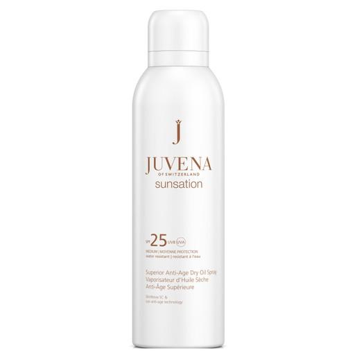 Juvena Sunsation Superior Anti-Age Dry Oil Spray Spf25 Πολυτελές Αντιγηραντικό Ξηρό Λάδι Σώματος με Αντηλιακή Προστασία 200ml
