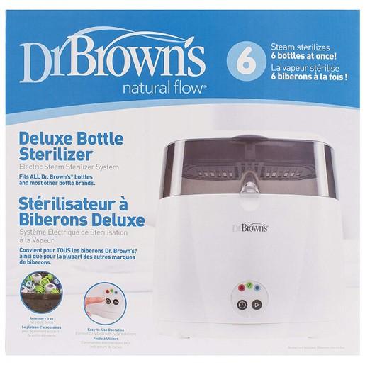 Dr Brown Deluxe Electric Bottle Sterilizer Ηλεκτρικός Αποστειρωτής Ατμού AC043