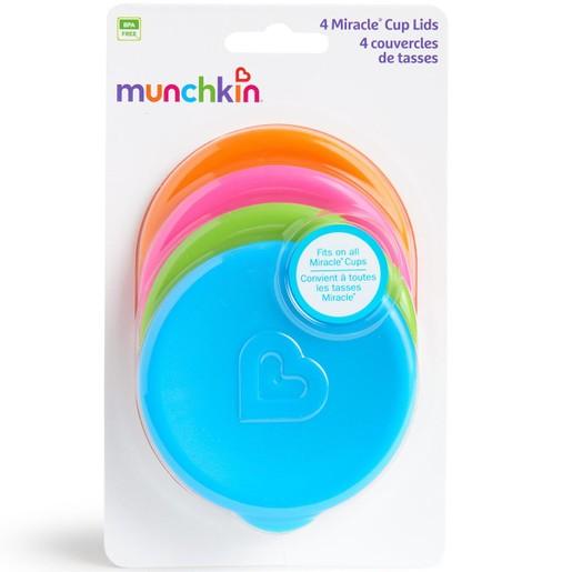 Munchkin Καπάκια για Κύπελλα 4PK Miracle® Cup Lids