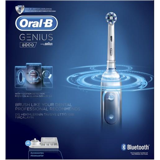 Oral-B Genius 8000 Ηλεκτρική Οδοντόβουρτσα