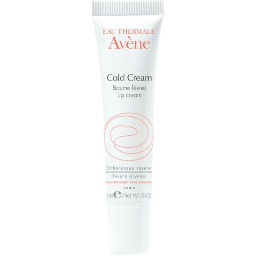 Avene Cold Cream Baume Levres Επουλωτικό Balm γιαΠολύ Ξηρά & Σκασμένα Χείλη με Σουκραλφάτη 15ml