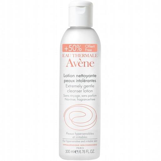 Avene Lotion Nettoyante Peaux Intolerantes Lotion Καθαρισμού για Πρόσωπο & Μάτια για το μη Ανεκτικό Δέρμα 300ml