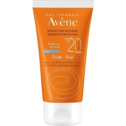 Avene Moderate Protection Emulsion Spf20 Μεσαία Αντηλιακή Προστασία του Ευαίσθητου Κανονικού & Μεικτού Δέρματος 50ml