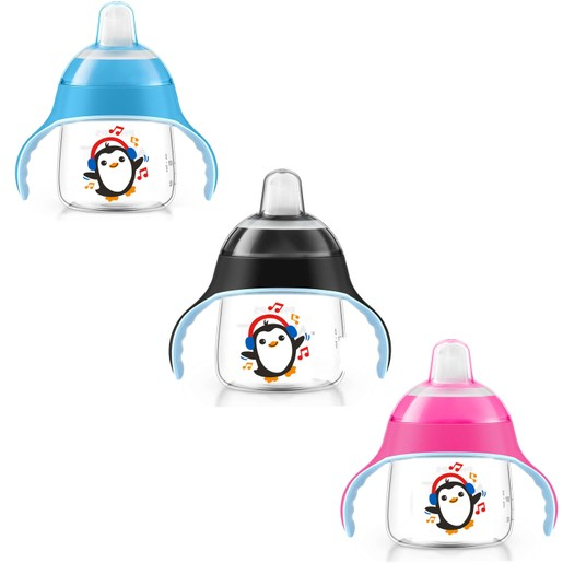 Avent Κύπελλο με Λαβές και Στόμιο Πλαστικό  απο 12 Μηνών+  260ml 1τεμάχιο SCF753