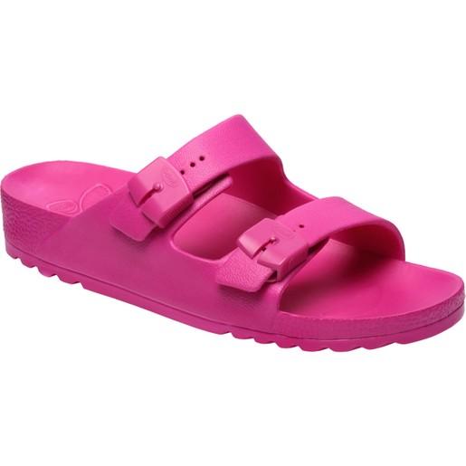 Scholl Shoes Bahia Φούξια Γυναικείες Ανατομικές Παντόφλες, Χαρίζουν Σωστή Στάση & Φυσικό Χωρίς Πόνο Βάδισμα 1 Ζευγάρι