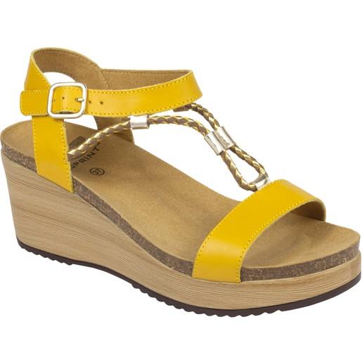 Dr Scholl Shoes Blanche Ώχρα NEO Γυναικεία Ανατομικά Παπούτσια Χαρίζουν Σωστή Στάση & Φυσικό Χωρίς Πόνο Βάδισμα 1 Ζευγάρι