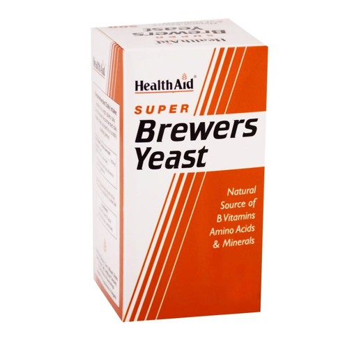 Health Aid Brewers Yeast  Μαγιά Μπύρας 300mg,