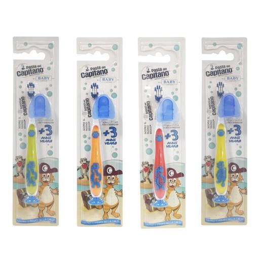 Pasta Del Capitano Junior Toothbrush Παιδική Οδοντόβουρτσα Από 3 Ετών 1 Τεμάχιο