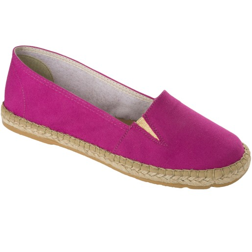 Scholl Shoes Corfu Φούξια Ανατομικά Παπούτσια Τύπου Εσπαντρίγια Χαρίζουν, Σωστή Στάση & Φυσικό, Χωρίς Πόνο Βάδισμα 1 Ζευγάρι