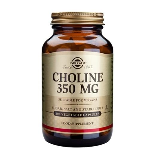 Choline 350mg 100 veg.caps - Solgar