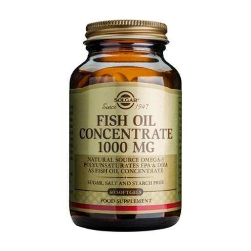 Solgar Fish Oil Concentrate 1000mg 60 softgels