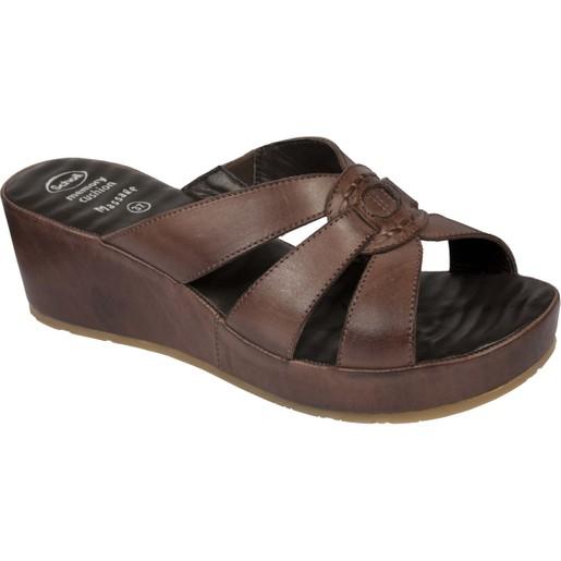 Scholl Shoes Damiana Moka Γυναικεία Ανατομικά Παπούτσια Χαρίζουν Σωστή Στάση & Φυσικό Χωρίς Πόνο Βάδισμα 1 Ζευγάρι