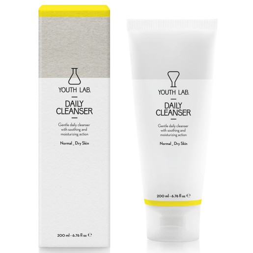 YOUTH LAB. Daily Cleanser Normal Dry Skin Τζελ Καθαρισμού για Κανονικές - Ξηρές Επιδερμίδες200ml