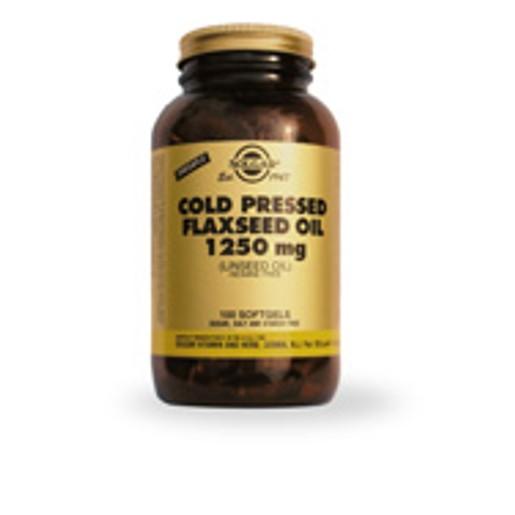 Solgar Flaxseed Oil 1250mg 100 softgels