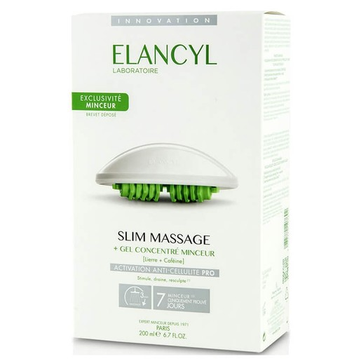 Elancyl Slim Massage Gel Concentre Minceur 200ml & Massage Gant, Gel για Μασάζ Κατά της Κυτταρίτιδας & Γάντι Αδυνατίσματος