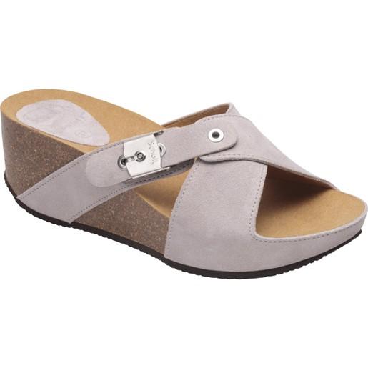 Dr Scholl Shoes Elon 2.0 Light Grey Γυναικεία Ανατομικά Παπούτσια Χαρίζουν Σωστή Στάση & Φυσικό Χωρίς Πόνο Βάδισμα 1 Ζευγάρι