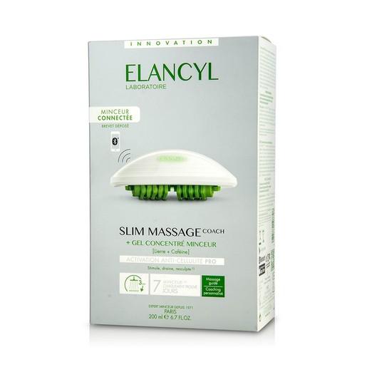Elancyl Slim Massage Coach Μοναδική, Έξυπνη, Ηλεκτρονική Μέθοδος Μασάζ Με Σύνδεση Bluetooth & Gel Κατά της Κυτταρίτιδας 200ml