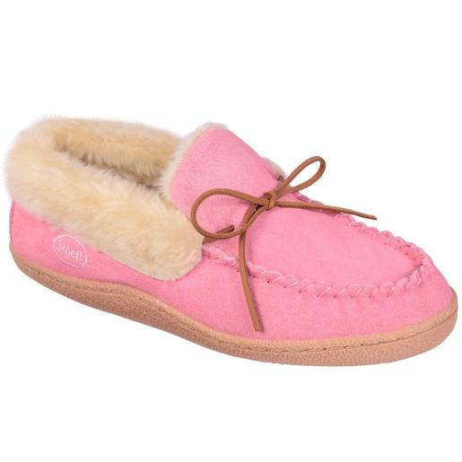 Scholl Shoes Panda Ροζ Ανατομικές Παντόφλες με Ειδική Επένδυση Εξαιρετικά Άνετες, Εύκαμπτες και Απαλές 1 Ζευγάρι
