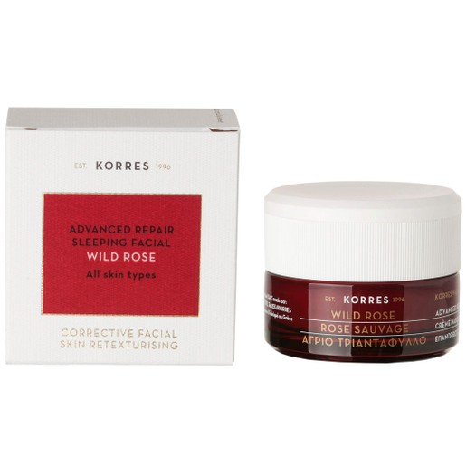Korres Wild Rose Advanced Repair Sleeping Facial Mask 40ml