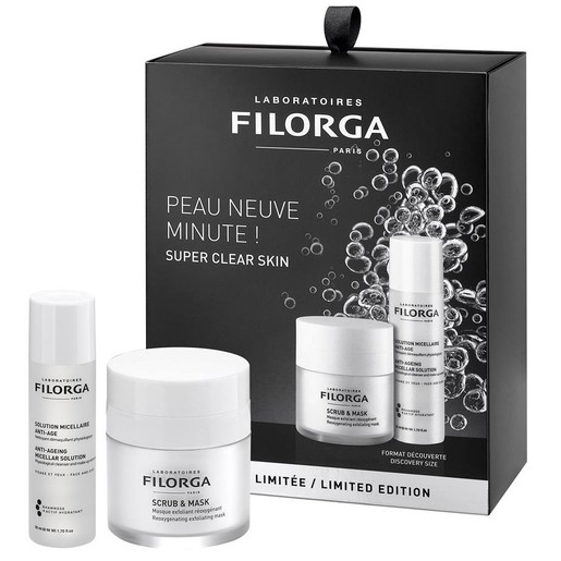 Filorga Limited Edition Scrub & Mask Μάσκα Διπλής Δράσης 55ml & Anti-Ageing Micellar Solution Λοσιόν Καθαρισμού-Ντεμακιγιάζ 50ml