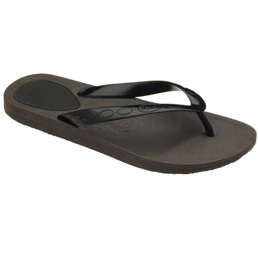 Scholl Shoes Gelly Μαύρο/Μαύρο Ανατομικές Παντόφλες Χαρίζουν Σωστή Στάση & Φυσικό Χωρίς Πόνο Βάδισμα 1 Ζευγάρι