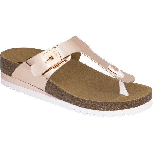 Dr Scholl Shoes Glam SS 1 Bronze ΝΕΟ Γυναικεία Ανατομικά Παπούτσια Χαρίζουν Σωστή Στάση & Φυσικό Χωρίς Πόνο Βάδισμα 1 Ζευγάρι