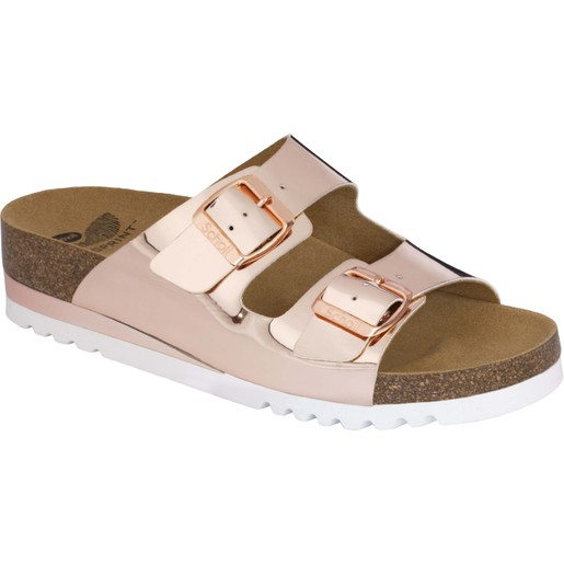 Scholl Shoes Glam SS 2 Bronze Γυναικεία Ανατομικά Παπούτσια Χαρίζουν Σωστή Στάση & Φυσικό Χωρίς Πόνο Βάδισμα 1 Ζευγάρι