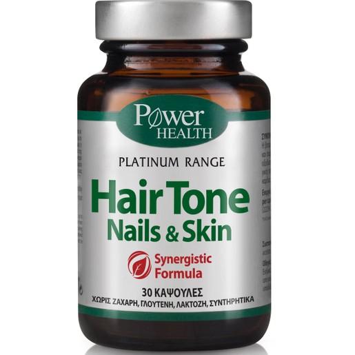 Power Health Platinum Hair Tone,Nails & Skin 30caps