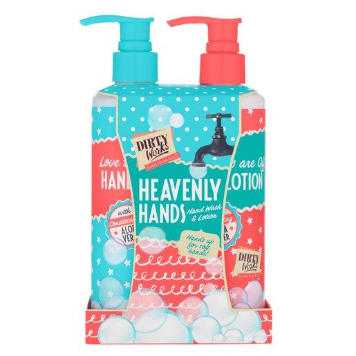 Dirty Works Heavenly Hands Wash & Lotion 2x250ml