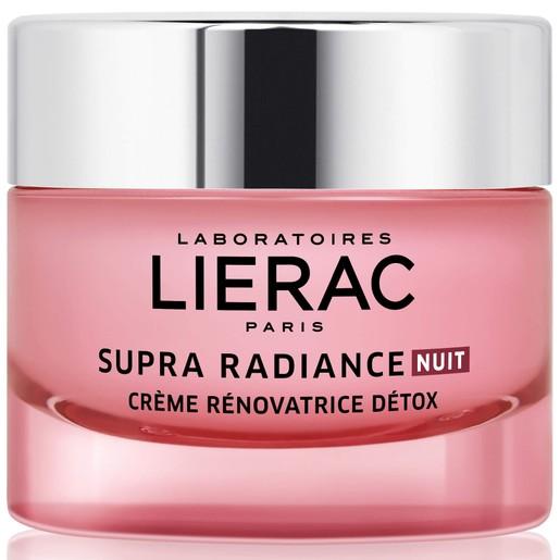 Lierac Supra Radiance Nuit Creme Renovatrice Detox 50ml