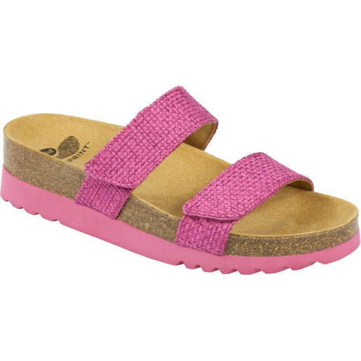 Scholl Shoes Lusaka Φούξια Γυναικεία Ανατομικά Παπούτσια Χαρίζουν Σωστή Στάση & Φυσικό Χωρίς Πόνο Βάδισμα 1 Ζευγάρι