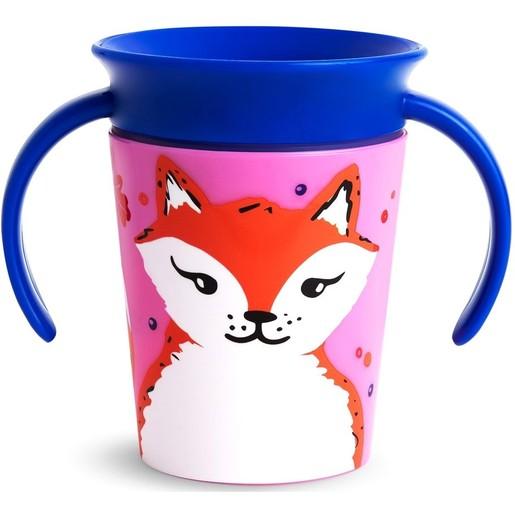 Munchkin Miracle Cup Fox Εκπαιδευτικό Ποτηράκι 177ml