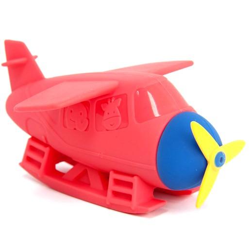 Marcus & Marcus Silicone Bath Toy Seaplane Squirt 18m+ Παιχνίδι Μπάνιου Υδρόπλανο