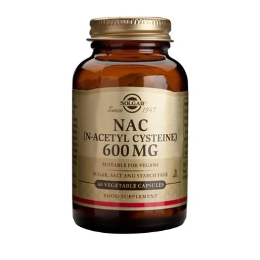 NAC (N-Acetyl-Cysteine) 600mg 60 veg.caps - Solgar