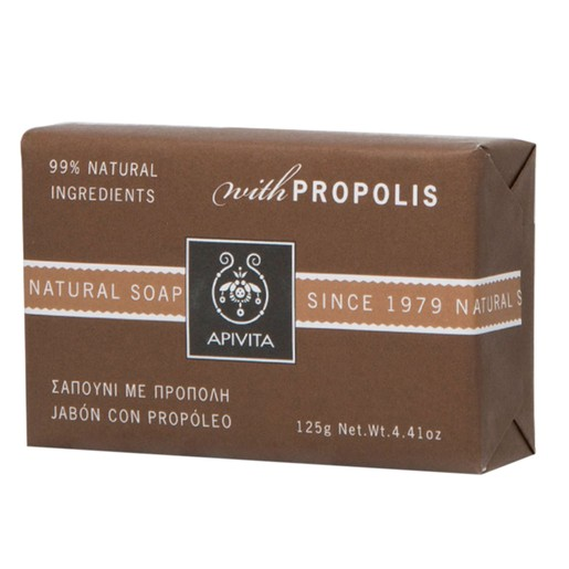 Apivita Natural Soap With Propolis 125g
