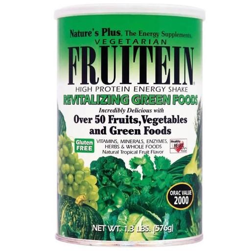 Nature\'s Plus Fruitein Συμπλήρωμα Διατροφής Πρωτεϊνών με Φρούτα & Λαχανικά 576gr