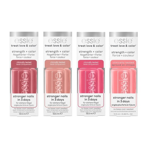 Essie Treat Love & Color Strength & Color Θεραπεία Νυχιών με Χρώμα για Ενδυνάμωση & Όμορφο Αποτέλεσμα 13.5ml