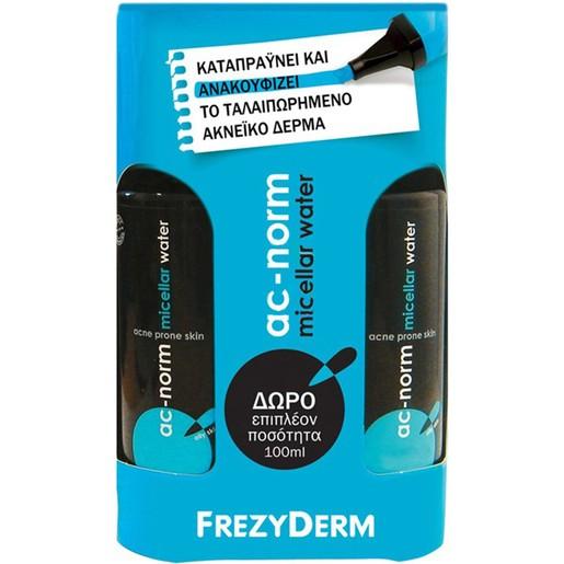 Frezyderm Ac-Norm Micellar Water 200ml & Δώρο Επιπλέον Ποσότητα 100ml