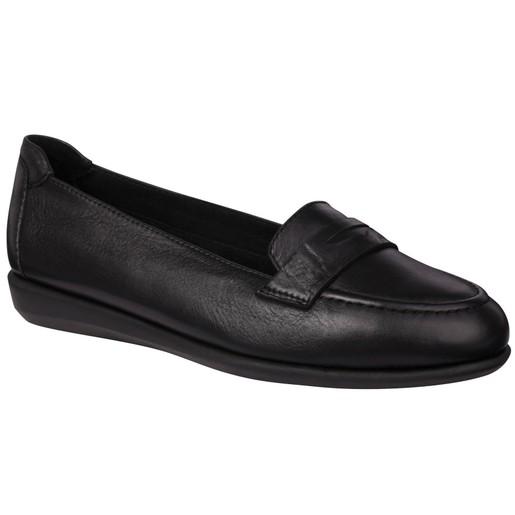 Scholl Shoes Phillis Black Μαύρο Γυναικεία Ανατομικά Παπούτσια Χαρίζουν Σωστή Στάση & Φυσικό Χωρίς Πόνο Βάδισμα 1 Ζευγάρι