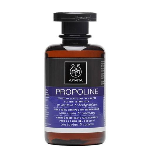Apivita Propoline Τονωτικό Σαμπουάν Για Άνδρες Για Την Τριχόπτωση Με Δεντρολίβανο & Λούπινο 250ml