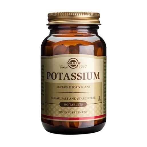 Potassium Gluconate 100  tabs - Solgar