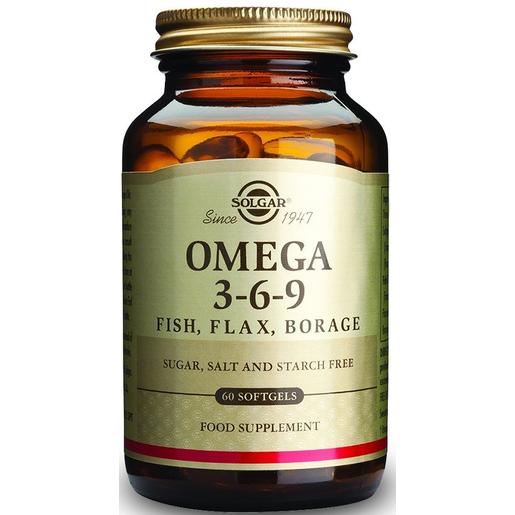 Solgar Omega 3-6-9  softgels