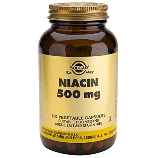 Solgar Niacin (B3) veg.caps