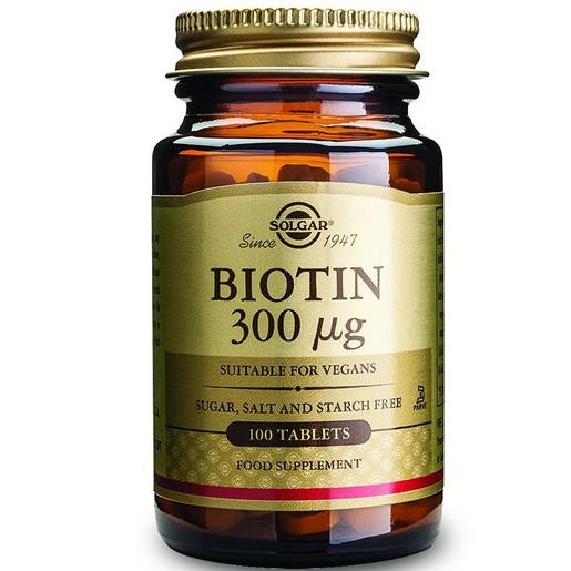 Solgar Biotin 300mg veg.caps