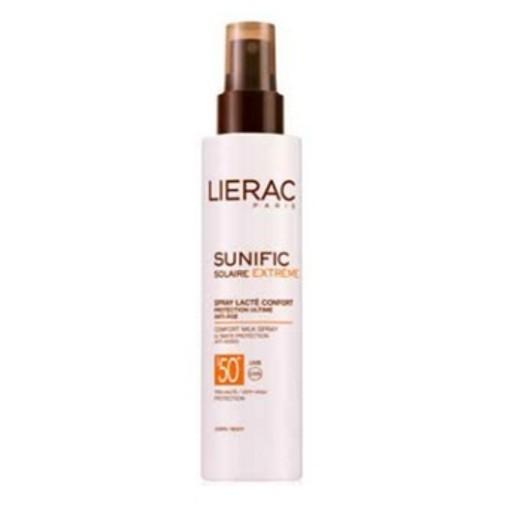 Lierac Sunific Extreme Spray Lacte Confort Spf50+ Απόλυτη Προστασία & Αντιγήρανση Spray 150ml